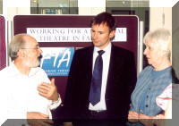 Michael Holden, Anne Cooper and Jeremy Hunt MP